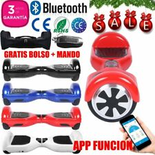 "6.5"" Scooter Electrico Patinete Hoverboard Bluetooth Self Balancing +APP+BOLSO"