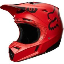 Fox V3 Moth LIMITADO Edition Casco Motocross 2017 - Rojo-Negro ENDURO M