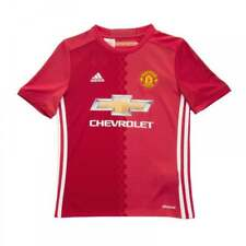 Adidas Performance Juniors Manchester United Home Shirt 2016/17 (Red)