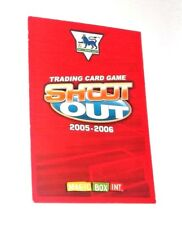 Shoot Out Football Trading Cards 2005-2006