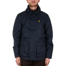 X Lyle & Scott Micro Fleece Lined Jacket - Navy Jacket