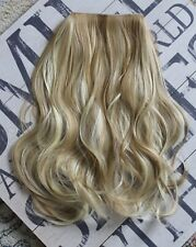"""Hair Extensions Wavy Halo Headband Invisible Wire Hidden Secret 20"""" 140g"""