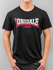 Lonsdale London Uomini Maglieria / T-shirt  Two Tone