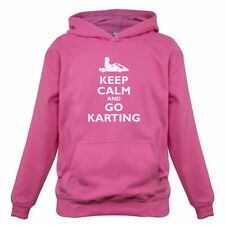 Keep Calm And Go Karting - Bambini / Felpa con cappuccio per - Kart -