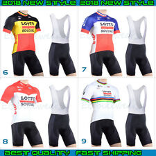 2018 LOTTO Cycling Jersey Bicicleta Bici Ropa Ciclismo Maillot Culotte Conjuntos