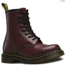 Dr Martens Women's 1461 8 Eye Boots - Cherry Red