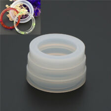 Round Silicone Mold Resin Bracelet Bangle Diy Jewelry Casting Mold Mould Tool