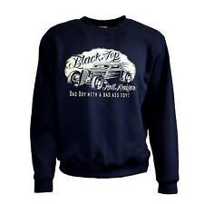Felpa Rockabilly Auto Sportiva Pullover Kustom Speed Shop RACING 1054 NY