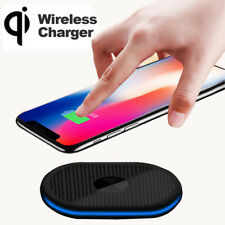 Qi Wireless Charger Charging Pad for iPhone X/8/8 Plus Galaxy Note 8/S8+/S7 Edge