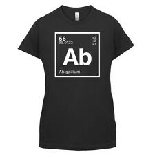 Abigail PERIÓDICO Element - Mujer / Camiseta Mujer GEEK - 14 Colores