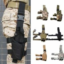 Tactical Adjustable Drop Leg Holster&Mag Pouch Holder for Pistol Gun Carry