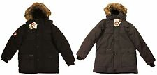 CANADA SUPER TRIPLE GOOSE WATER RESISTANT SHELL HOOD PARKA JACKET WINTER COAT