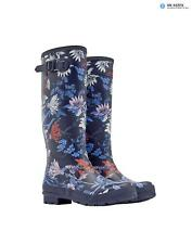 Joules Women's Wellyprint Printed Wellington Boots - French Navy Fay Floral X_WE