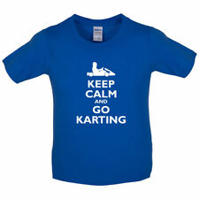 Keep Calm And Go Karting - Bambini/bambini t-shirt - Go Kart - Go Karting