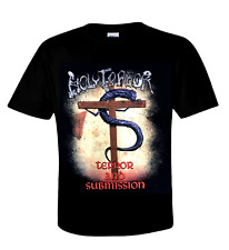 HOLY TERROR official T-Shirt TERROR AND SUBMISSION - U.S. Old School Speed Metal