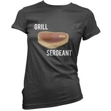 Grill Sergeant - Mujer / Camiseta Mujer - BBQ - Bistec - Barbacoa - 11 Colores