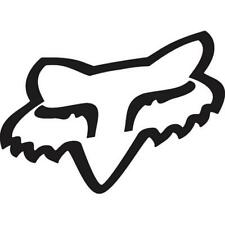 Fox 2017 Herren Motocross / MTB Sticker - FOX HEAD TDC - ca. 5cm - schwarz Motoc