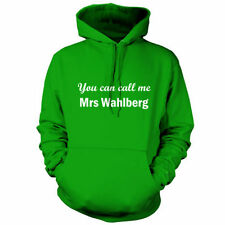 You Can Call Me Mrs WAHLBERG - Unisex Sudadera Con Capucha -9 COLORES -Película-
