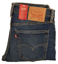 Genuine Levis 519 Original Mens Extreme Skinny Stretch Williamsburg Denim Jeans
