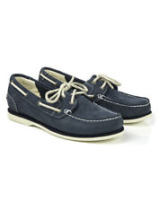 Timberland Women's Earthkeepers Classic Boat Unlined Boat Shoes - Navy