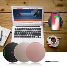 100% GENUINE IPHONE ANDROID QI WIRELESS CHARGER FAST CHARGING PAD STAND DOCK NEW