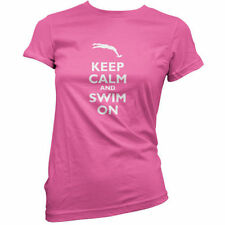 Keep Calm and swim on - Donna / T-shirt da donna - Nuotatore - NUOTO -11 COLORI