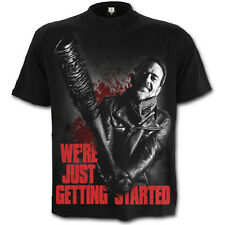 Walking Dead Just Getting Started OFFICIAL T-Shirt Negan Rick Zombies 13G
