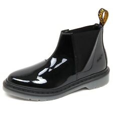 D6474 (without box) beatles donna DR. MARTENS nero lucido shoe boot woman