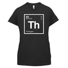 Thea PERIÓDICO Element - Mujer / Camiseta Mujer GEEK - 14 Colores