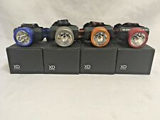 EDDIE BAUER HEAD LAMP PIVOTING LIGHT ADJUSTABLE STRAP FOUR COLOR CHOICES