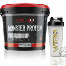 Weight Gainer -serious MASSA 4KG MATRIX Nutrition MONSTER Proteine -