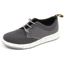 D6396 (without box) sneaker donna tissue DR. MARTENS grigio/nero shoe woman