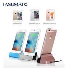 Charge Sync Dock Desktop Holder with USB cable For iPhone 5 5s 6 6s 7 7 Plus 8
