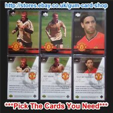 ☆ UPPER DECK MANCHESTER UNITED 2001-02 (PROMO CARDS) *Pick The Cards You Need*