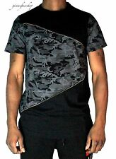 Time Is Money zip-stella Camouflage t shirt, rap hip hop G Mesh Uomo Club