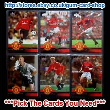 ☆ UPPER DECK MANCHESTER UNITED 2001-02 *Pick The Cards You Need*