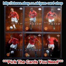 ☆ UPPER DECK MANCHESTER UTD (Strike Force) 2001-02 *Pick The Cards You Need*