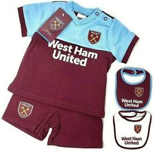 WEST HAM UNITED FC 2017/18 bébés t-shirt short Kit Set bébé Combinaison en