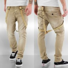 VSCT Clubwear Uomini Jeans / Jeans straight fit  Brad Suspenders