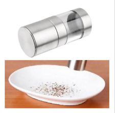 TOP Quality Manual Stainless Steel Salt Pepper Mill Grinder Muller Kitchen Tool