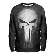 THE PUNISHER - Marvel Comics Sweatshirt Man - Felpa Uomo, Fumetti Film T-Shirt