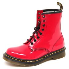 D7474 (without box) anfibio donna DR. MARTENS 1460 rosa magenta boot shoe woman