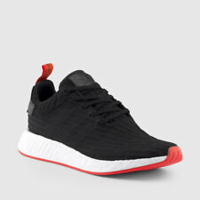 Adidas NMD_R2 PK Nomad Primeknit Black Red White two toned BA7252 size 8-13