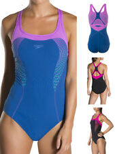 Speedo Fit Kickback Non Wired Supportive Swimming Costume Swimsuit
