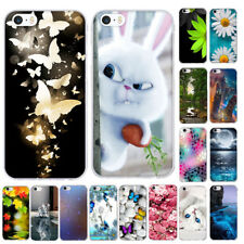 Phone Case for iphone 6 6s 7 8 5 5S SE Silicone Case 3D Pattern ...