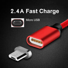 1M 2M 3M 2.4A Magnetic Adapter Charger Micro USB High Speed Data Charging Cable