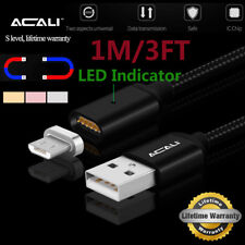 ACALI Magnetic Micro USB Adapter Charger Data Cable For Android Xiaomi Redmi 4X