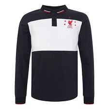 Polo LFC Hombre Azul Marino Manga Larga Bloque de Color