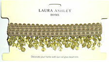 "extra "" LAURA ASHLEY "" cristal taillé perle bordure 6cm Goutte Sold BTM"