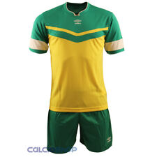 Completi calcio Umbro - Citizes Verde / Giallo MC